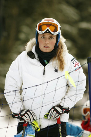 Vonn during course inspection. : Lindsey Vonn/Vancouver Olympics : Austin, Texas Photographer | editorial, commercial, sports, music, news, portrait